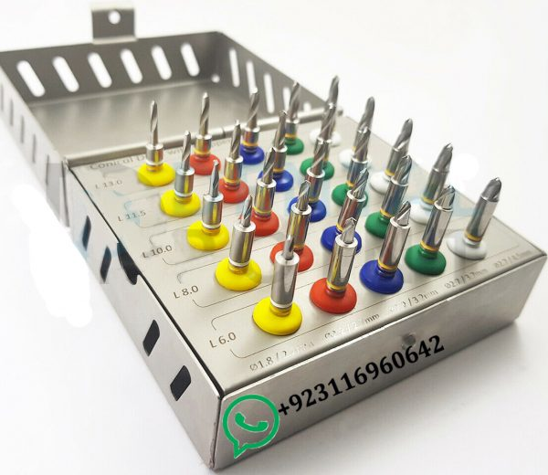 Conical Drill Kit Dental Implant 25