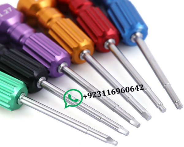 Dental Implant Screw Driver Kit Abutment Implant set of 6 Drivers Available Whatsapp +923116960642
