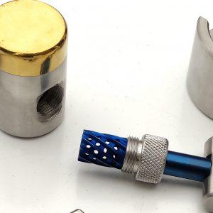 Bone Mill Dental Grinder Blue Coating
